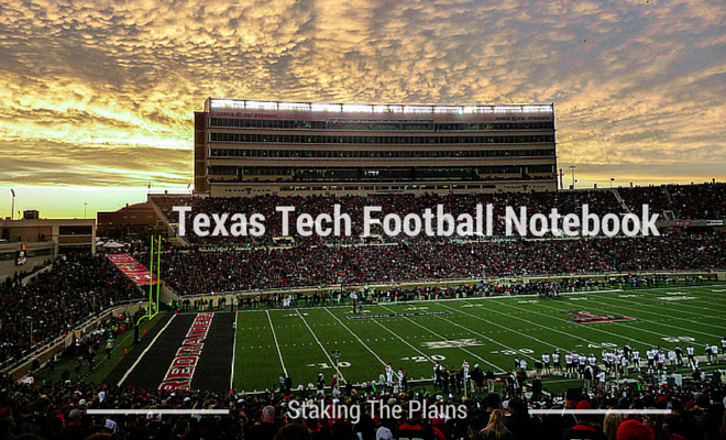 Texas Tech Football Notebook New Photos Of Jones At T Secondary Improving Staking The Plains